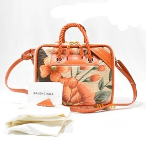 NWT Balenciaga small blanket satchel bag